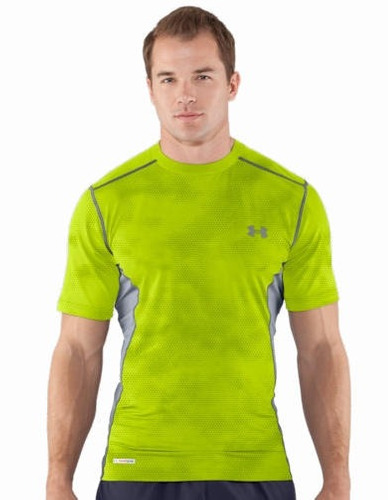 polera de compresion under armour sonic original talla s