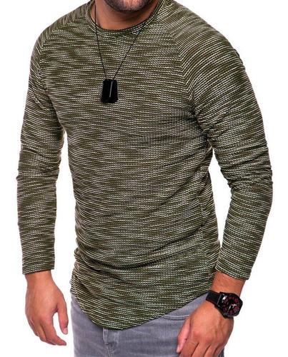 polera de hombre tejida camiseta suéter 22