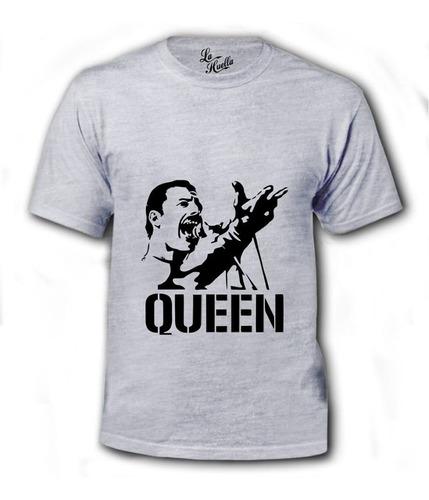 polera de queen - rostro freddie mercury / lho