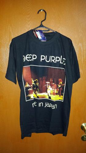 polera deep purple 100% algodon