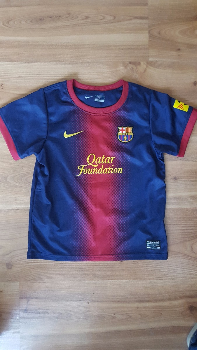 Polera Del Barcelona Original Nike Dri-.fit -   8.970 en Mercado Libre 9341c33de59