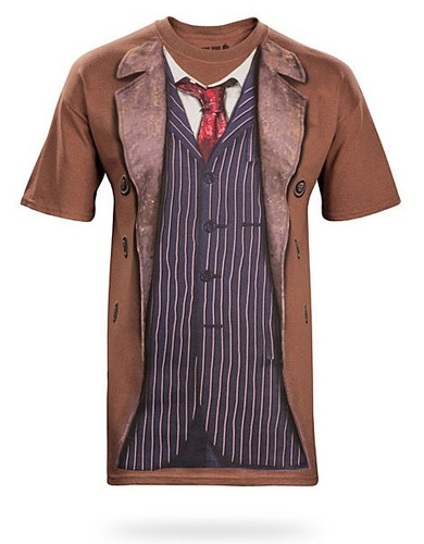 polera doctor who 10th y 4th doctor
