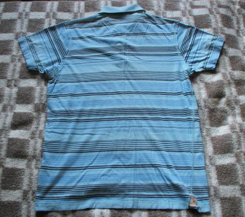 polera estilo camisa con cuello oscar de la renta talla m