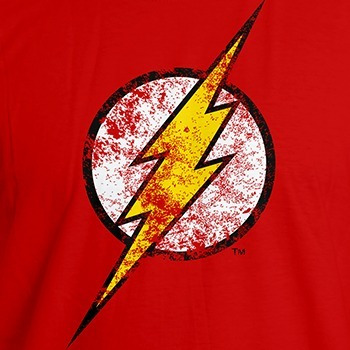 polera flash mujer original, dc comics.