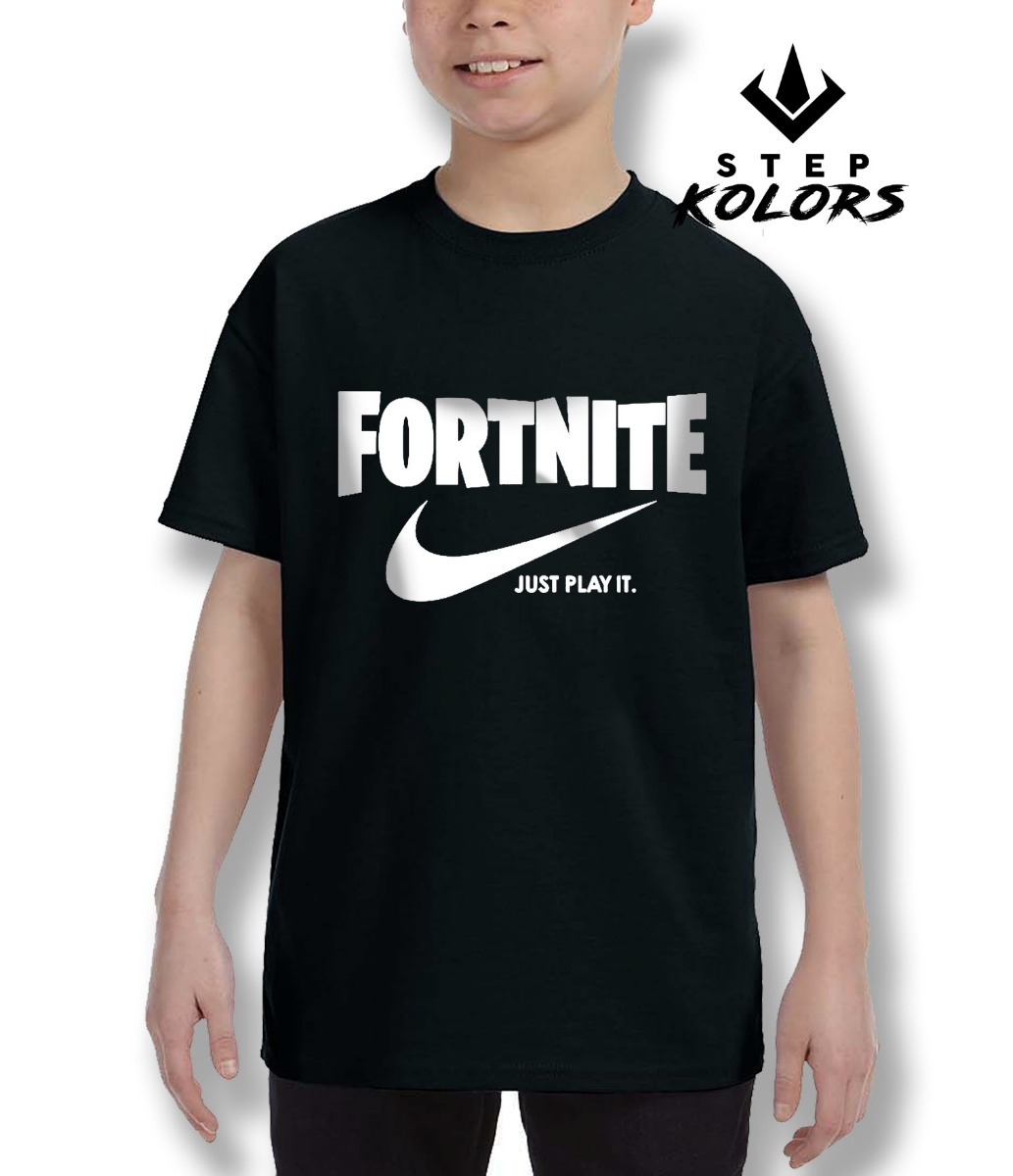 Polera Fortnite Just Play It Nike Diseño Exclusivo -   8.490 en ... 0c06831800c15