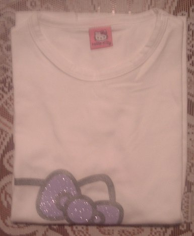 polera hello kitty