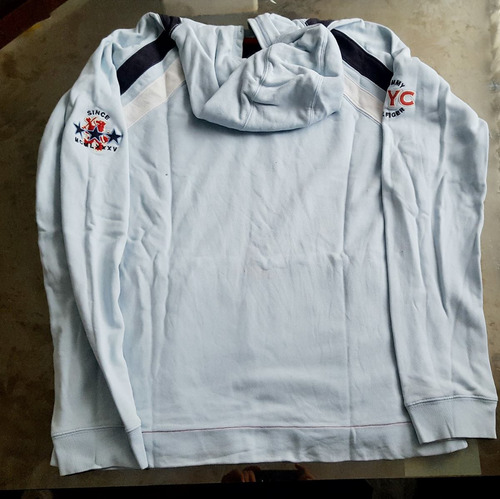polera hoddie chompa sweatshirt  tommy hilfiger usado tallam