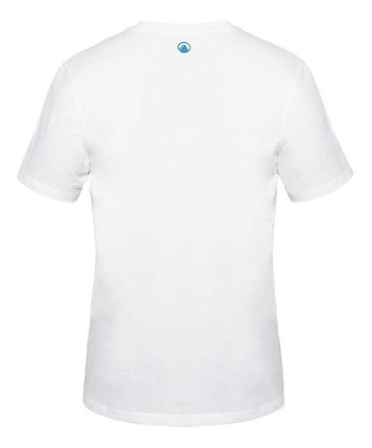 polera hombre logo cotton t-shirt blanco lippi