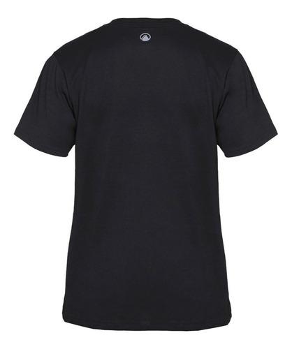 polera hombre logo cotton t-shirt negro lippi