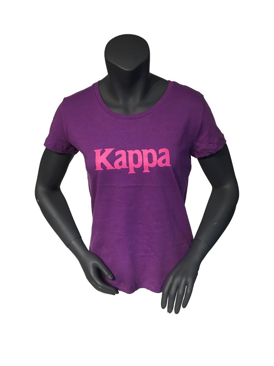 e08b0a6ff8d24 Polera Kappa Mujer Sportstyle Polera Kappa M Logo Cvc Kpwpoi ...