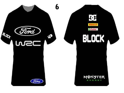 polera  ken block ford monster  world rally car