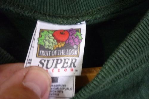 polera manga larga,  fruit of the loom, pub brewery, talla m