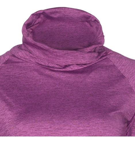 polera manga larga mujer con cuello primera capa outdoor