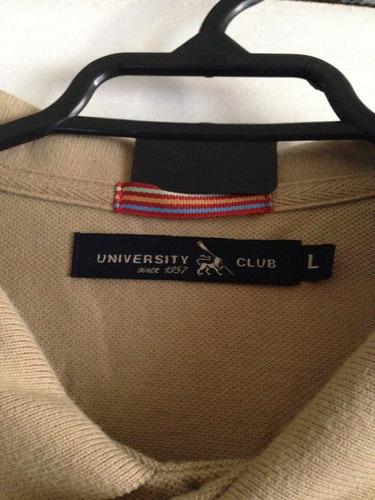 polera marca university club talla l