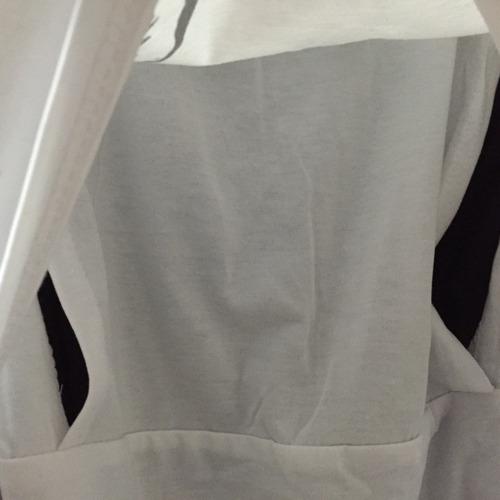 polera maternal para lactancia talla l nueva algodon spadex