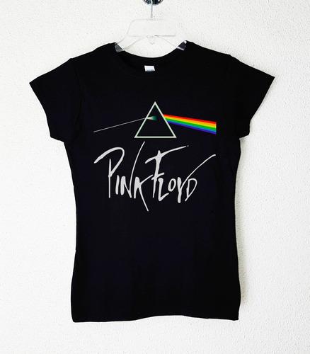 polera mujer pink floyd varios diseños rock clásico progres.
