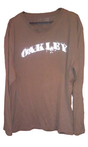 polera oakley / talla l