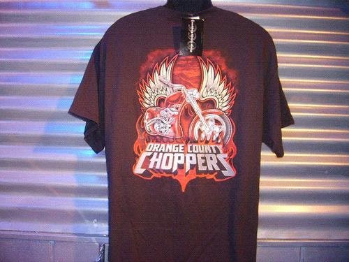 polera orange county choppers xl