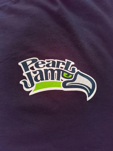 polera pearl jam seahawks edición limitada