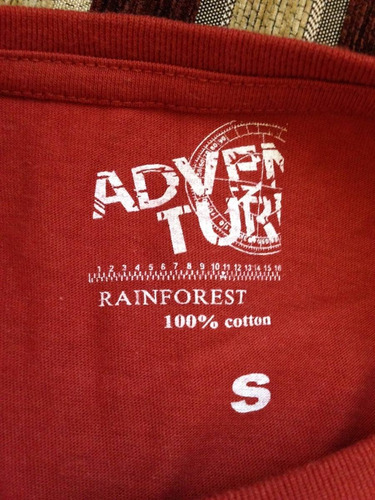 polera rainforest talla s