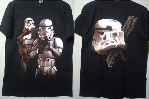 polera star wars guerra de las galaxias rogue one vader yoda