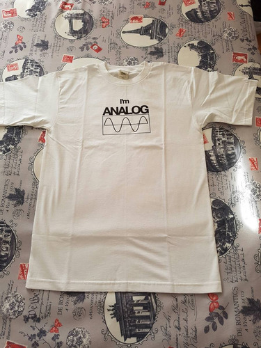 polera ten club i'm analog pearl jam talla m