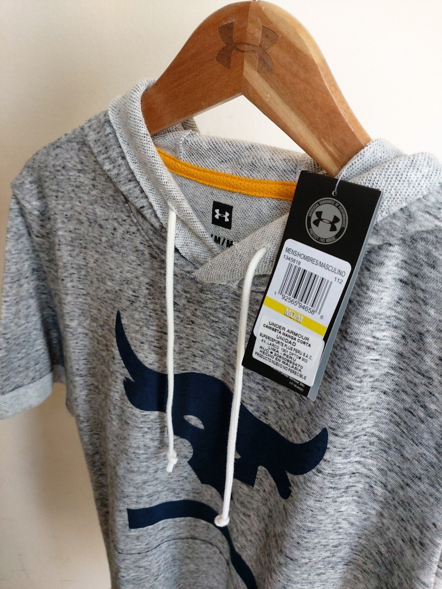 espía canal sextante  Polera Under Armour Project Rock Terry La Roca Hoddie 2019 - S/ 199,00 en  Mercado Libre