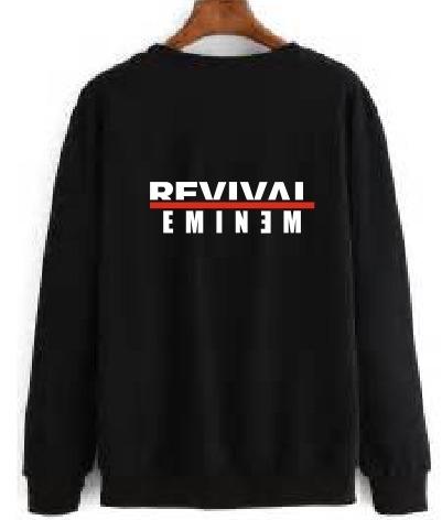 Polera Unises Rap Eminem Revival Estampado Personalizado - S  65 8571443710c