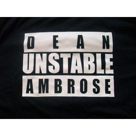 Polera Wwe Dean Ambrose