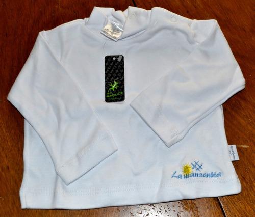 poleras camisetas lisas manzanita 3 colores little treasure