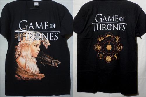poleras game of thrones envío a todo chile gratis! blackarmy