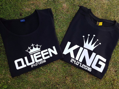 poleras queen and king