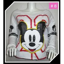 Polera Mickey Mujer Regalo