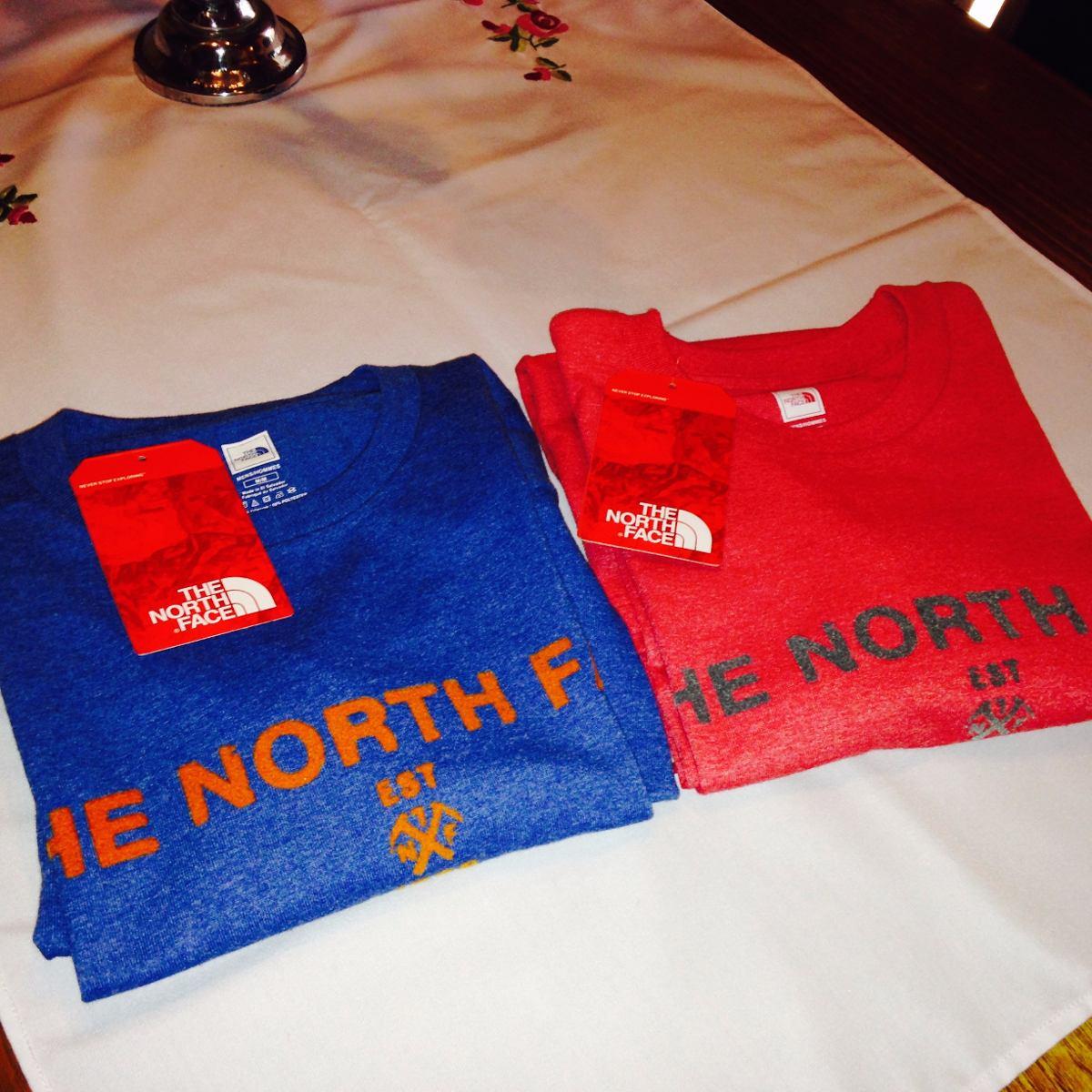 poleras north face hombre