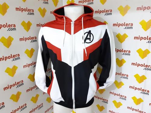 poleron avengers  end game traje cuantico tela nacional