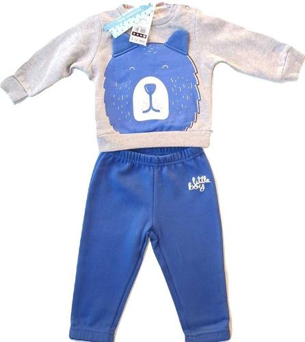 polerón buzo bebé niño conjunto / santiago boxer