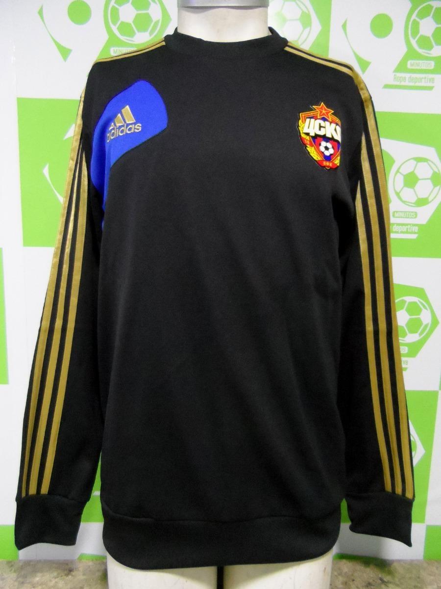 Negro Moscu Nuevo Poleron Entrenamiento Adidas 2012 Cska 13 WHcW7Yq6w