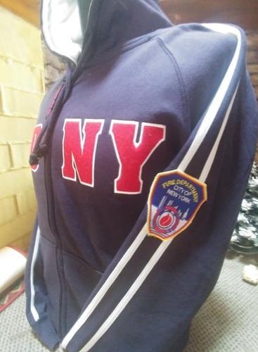 polerones bomberos new york fdny (s m l xl)