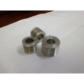Polia Aluminio Micro V Motor Tanquinho Lavadora Roupa Latina