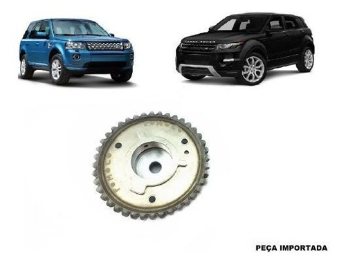 polia de escape do comando evoque  freelander 2 turbo 2.0 16