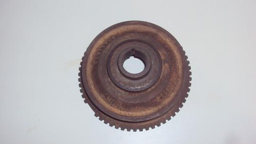 polia do virabrequim gm corsa antigo (maciça)