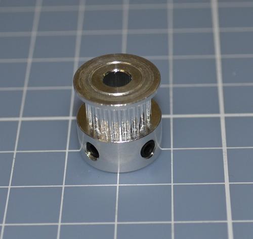 polia gt2 20 dentes furo 5mm  - reprap - impressora 3d