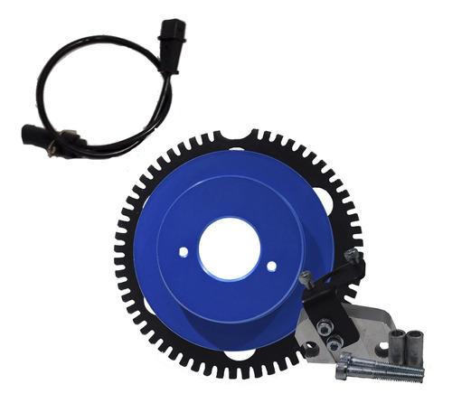 polia roda fônica azul gm chevette marajó chevy 500 sensor