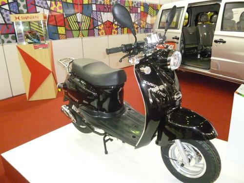 polia traseira completa original scooter shineray retrô 50