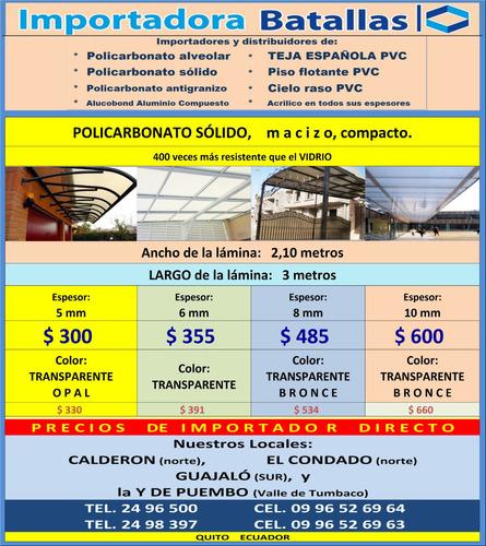 policarbonat solido tejas española pvc duela piso flotante g
