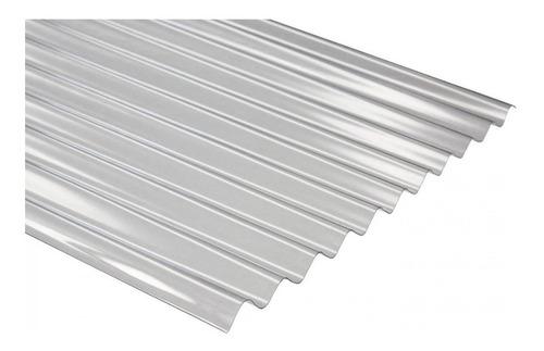 policarbonato acanalado 0,80 mm x metro