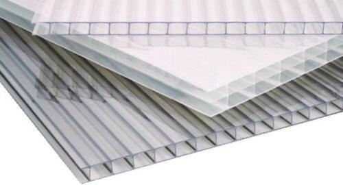 policarbonato alveolar 8mm x 1.45m x 2.10m , fume y cristal
