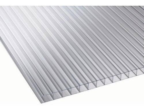 policarbonato alveolar cristal 8 mm de 1,45x2,10 mts oferta