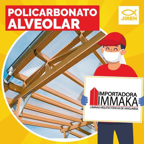 policarbonato alveolar jireh, pergolas, techos, cubiertas p3
