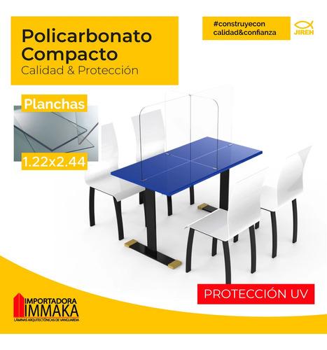 policarbonato compacto acrílico mampara cristal, alveolar p1